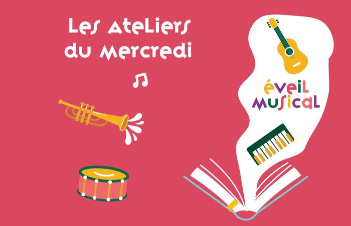 Atelier d'éveil musical / Les Ateliers du Mercredi
