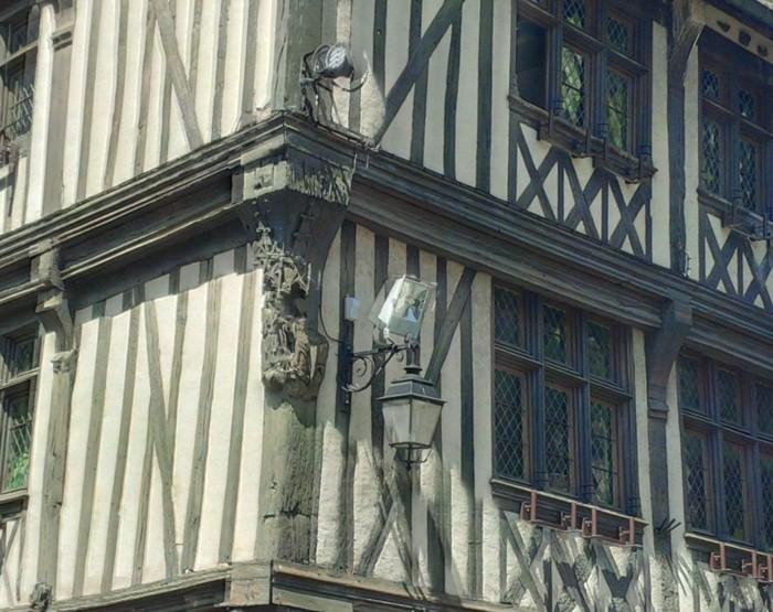 Journées du patrimoine 2020 - Visite guidée des façades en pan de bois de Vernon