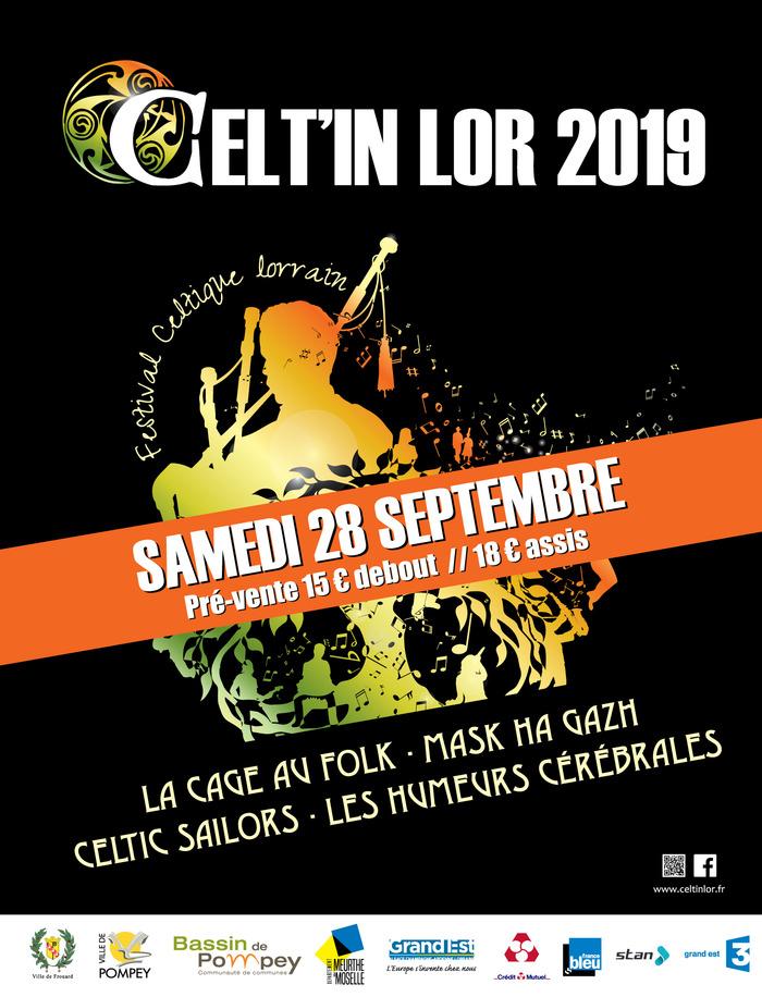 Celtic Sailors - Les Humeurs Cérébrales - La Cage au Folk - Mask Ha Gazh