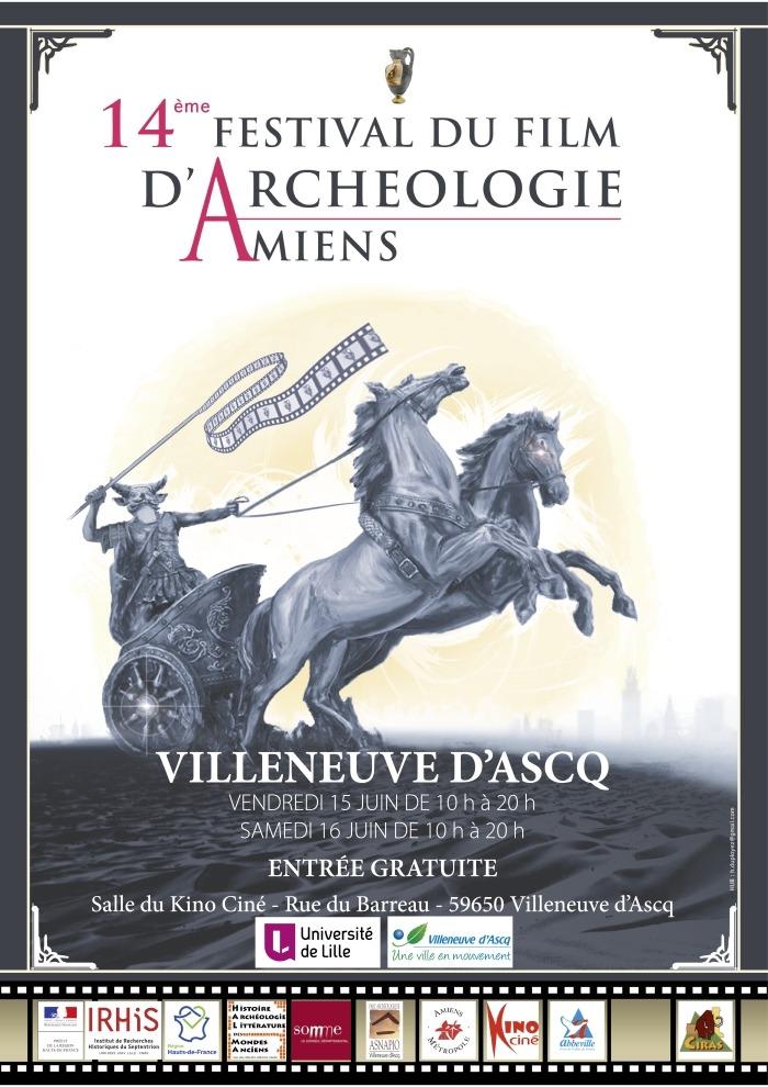 14 éme Festival des films d'archéologie d'Amiens.