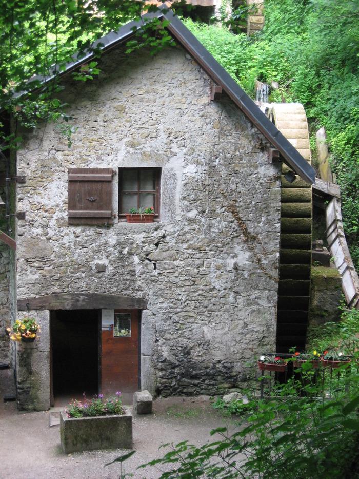 Journées du patrimoine 2018 - 150 ans du moulin de Chanaz.