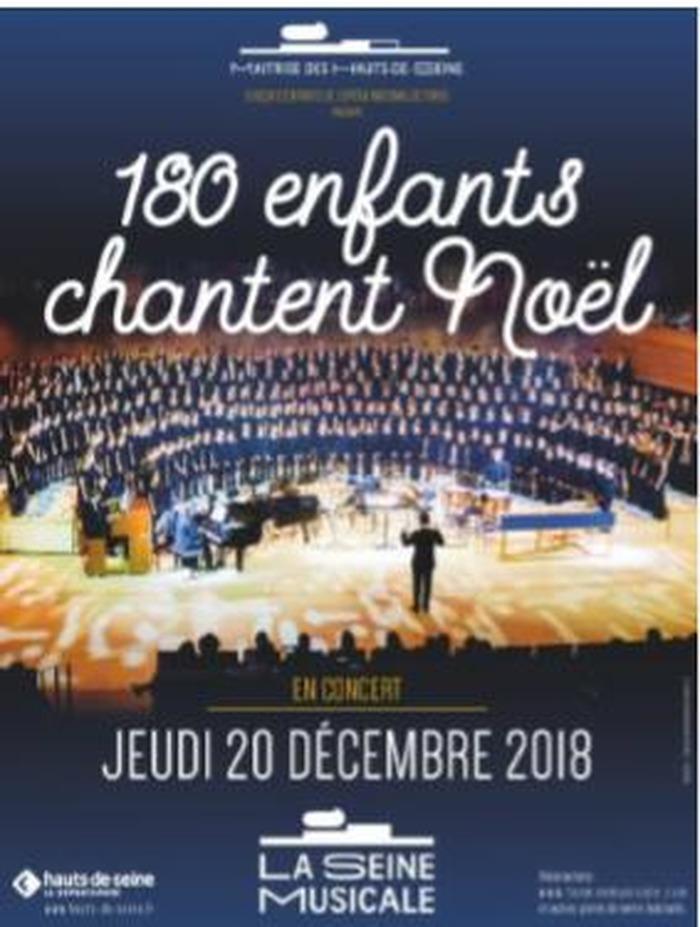 180 enfants chantent Noël à  La Seine Musicale