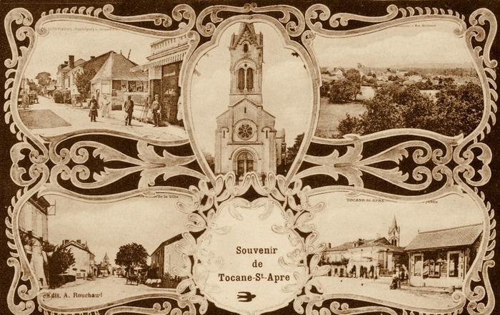 Journées du patrimoine 2018 - 1852-1952 : Cent ans de Patrimoine à Tocane-Saint-Apre