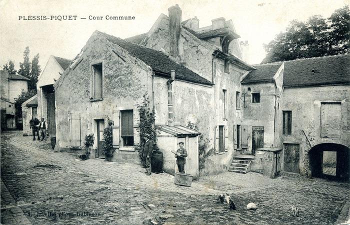 Crédits image : Archives municipales du Plessis-Robinson, 4 Fi MAI 12