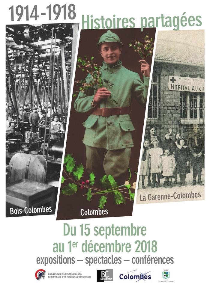 Journées du patrimoine 2018 - 1914-1918 - Histoires partagées