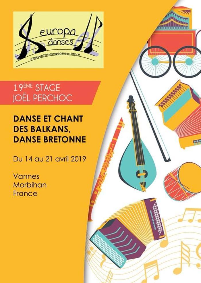 Stage de danse et chant des Balkans et de Bretagne