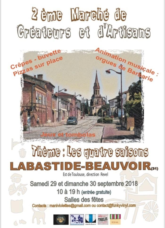 2e marché de créateurs et d'artisans de Labastide-Beauvoir