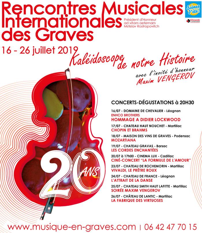 20èmes Rencontres Musicales Internationales des Graves