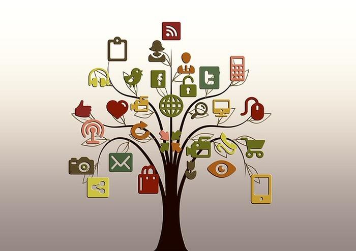 Arbre représentant apps mobiles