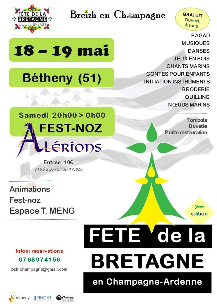 Fête de la Bretagne en Champagne-Ardenne