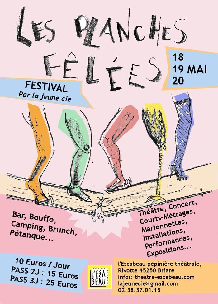 3è Festival LES PLANCHES FÊLÉES au Théâtre de l'Escabeau