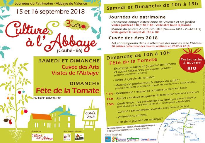 Journées du patrimoine 2018 - 3e Fête de la tomate de Couhé