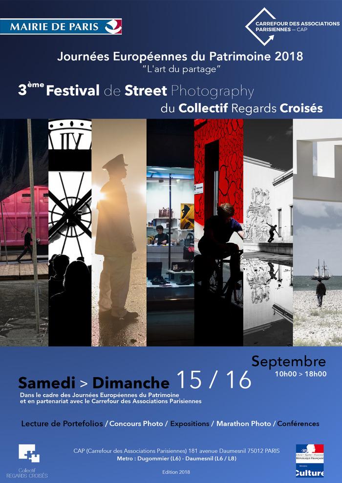 Journées du patrimoine 2018 - Lectures - 3ème Festival de Street Photography - Regard croisé sur les J.O 2024
