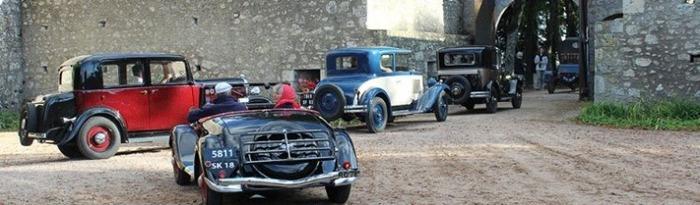 Journées du patrimoine 2017 - 3ème vadrouille du patrimoine organisée par le Rétro Mobile Club Dompierrois
