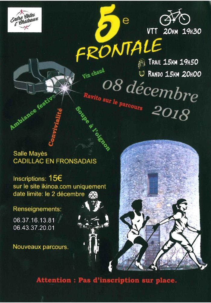 5ème frontale du Fronsadais
