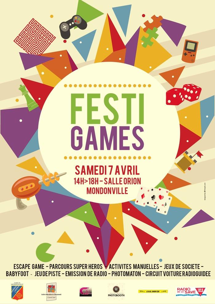 6ème édition du Festi'Games de Mondonville - Samedi 7 avril