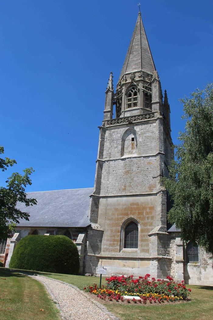 Journées du patrimoine 2017 - Visite libre de l'église de Valliquerville