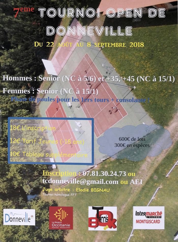 7e Tournoi Open de Donneville