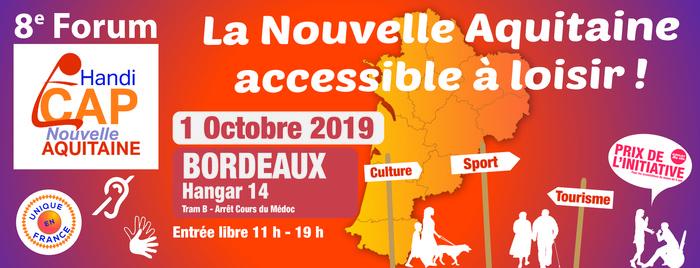 8e Forum d'Information sur les loisirs accessibles en Nouvelle Aquitaine