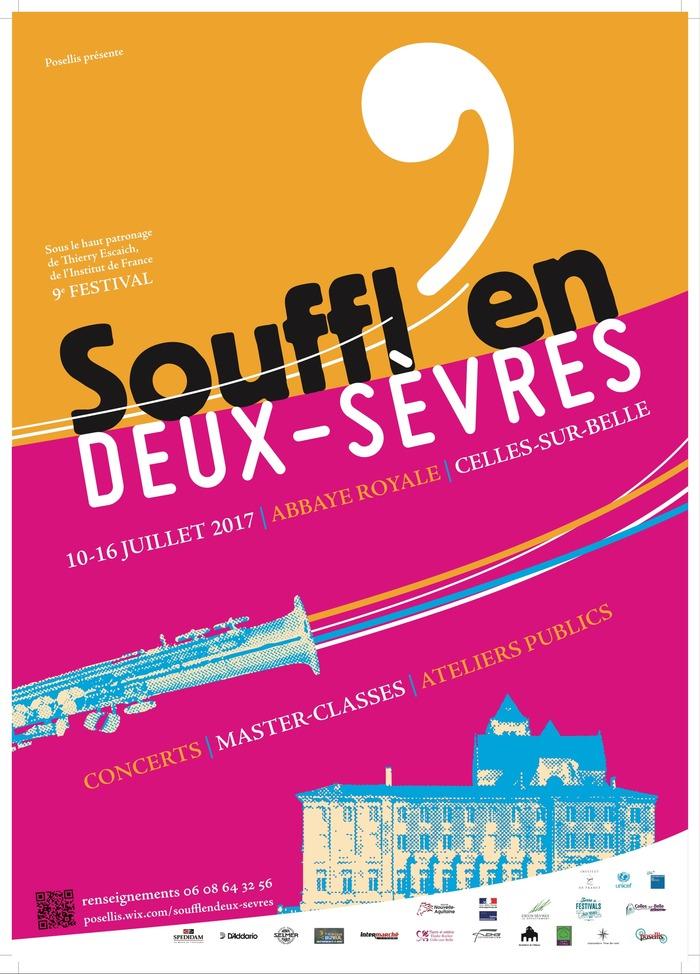 9ème Festival Souffl'en Deux-Sèvres et 9ème Académie Ellipsos