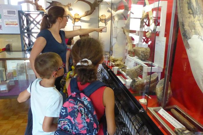 Journées du patrimoine 2018 - À l'écoute des mammouths - Visites commentées pour les familles