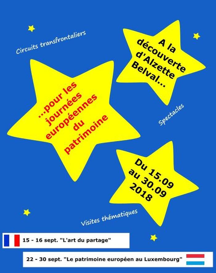Journées du patrimoine 2018 - A la découverte d'Alzette Belval pour les journées européennes du patrimoine