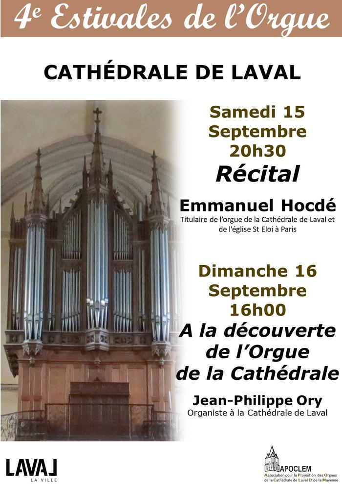 Journées du patrimoine 2018 - A la découverte de l'orgue de la Cathédrale