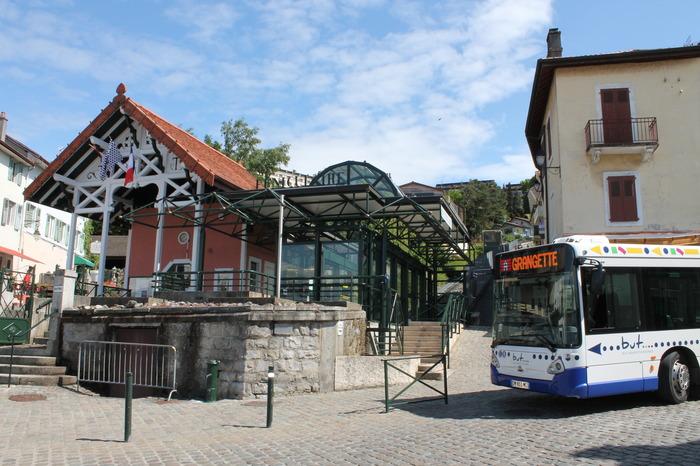 Journées du patrimoine 2018 - Funiculaire : parcourez librement Thonon-les-Bains.