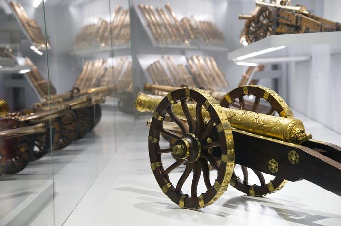 Crédits image : Petits modèles d'artillerie  dans les cabinets insolites (c) musée de l'Armée - Paris, dist; RMNGP