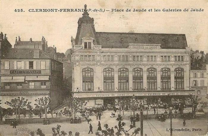 Journées du patrimoine 2018 - A la découverte des Galeries Lafayette de Clermond-Ferrand.