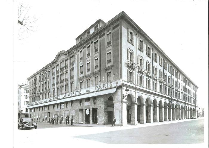 Journées du patrimoine 2018 - A la découverte des Galeries Lafayette de Nice