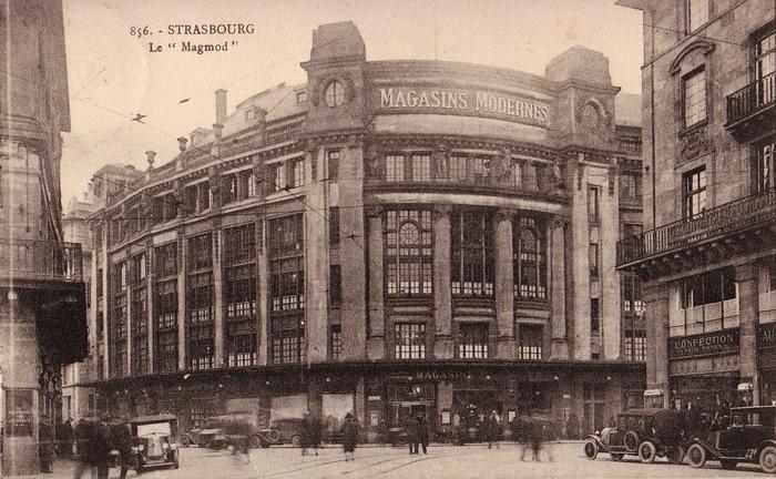 Crédits image : Magasins Modernes, 1928. Archives Galeries Lafayette