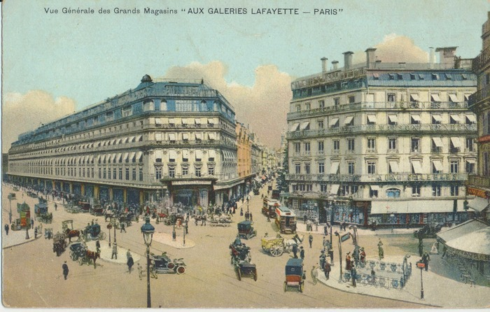 Journées du patrimoine 2018 - COMPLET - À la découverte des Galeries Lafayette du boulevard Haussmann