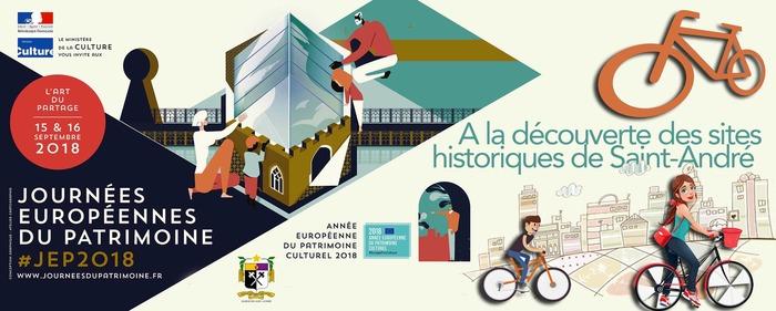 Journées du patrimoine 2018 - A la découverte des sites historiques de Saint-André