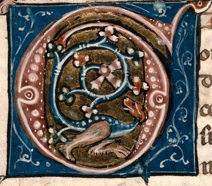 Crédits image : Missel de l'Eglise de Grasse, 1330 © Villa Saint-Hilaire