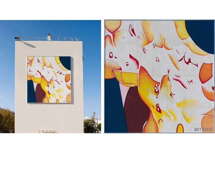 Journées du patrimoine 2018 - Un tableau de Guillaume Bottazzi de 7 m x 7 m