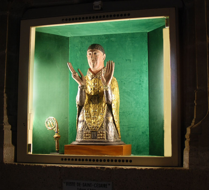 Journées du patrimoine 2017 - Abbatiale Saint-Cesaire