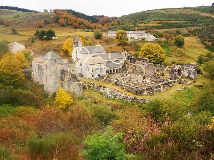 Journées du patrimoine 2018 - Visite commentée de l'Abbaye cistercienne de Mazan.