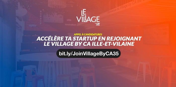 Accélère ta startup en rejoignant le Village by CA Ille-et-Vilaine