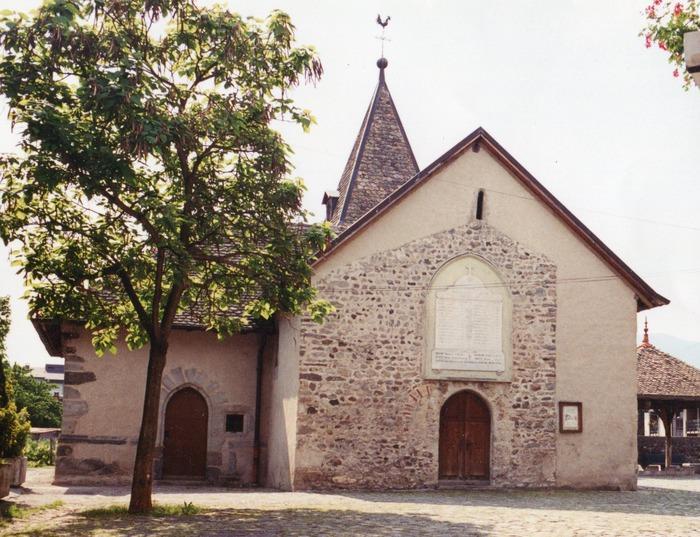 Journées du patrimoine 2018 - Visite libre de la chapelle de Concise.