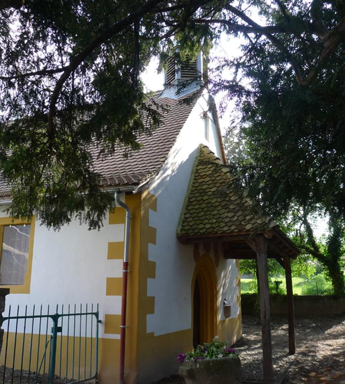 Journées du patrimoine 2018 - Visites libres et commentées de la chapelle de Tully.
