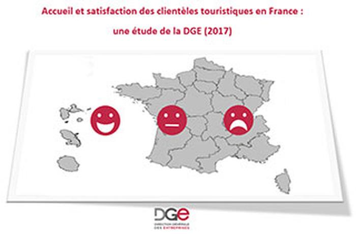 Accueil et satisfaction des clientèles touristiques en France