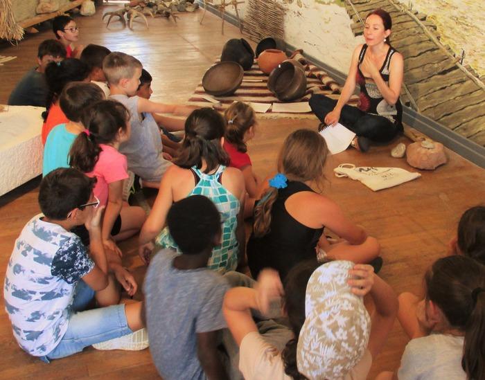 Journées du patrimoine 2018 - Accueil gratuit des scolaires à l'Espace Archéologique