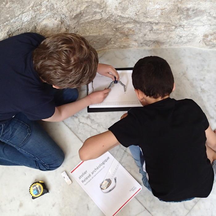 Journées du patrimoine 2018 - Activités enfants : Drôles de pierres!