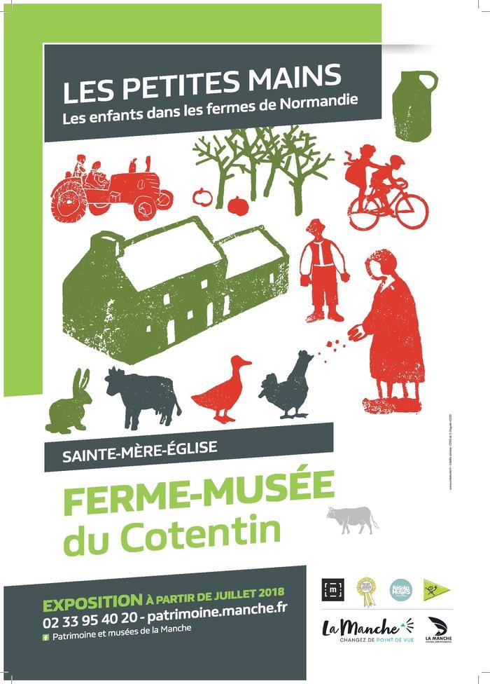 Journées du patrimoine 2018 - Exposition « Les petites mains – Les enfants dans les fermes de Normandie »