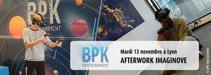 Afterwork Imaginove chez BPK Entertainment