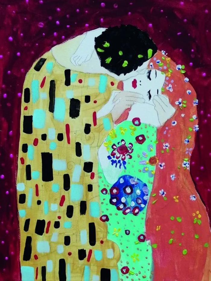 Afterwork créatif ArtNight • Peins comme Klimt - Le baiser