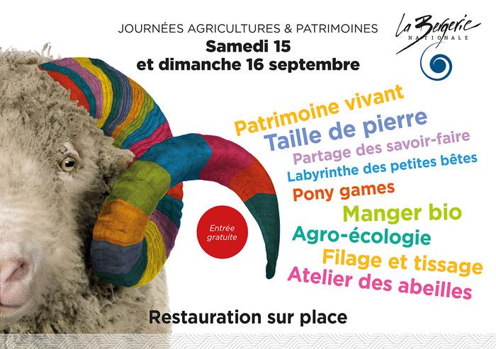 Journées du patrimoine 2018 - Agricultures & Patrimoines - Village d'exposants