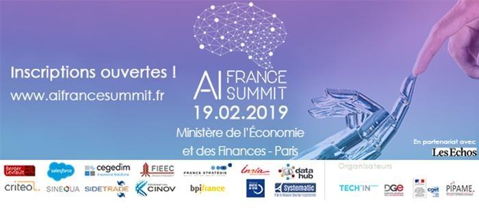 AI France Summit organisé par TechinFrance