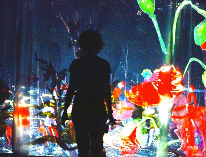 Alice, de l'autre côté du miroir d'après Lewis Carroll